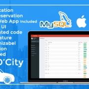 سورس cabاپلیکیشن تاکسی سرویس IOS