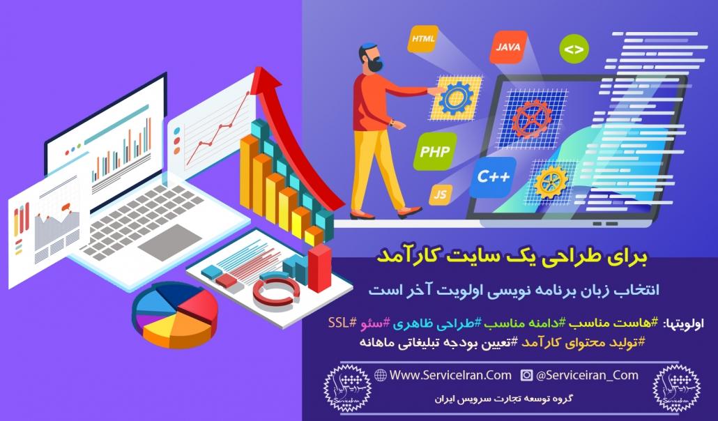 اولیتهای طراحی سایت کارآمد
