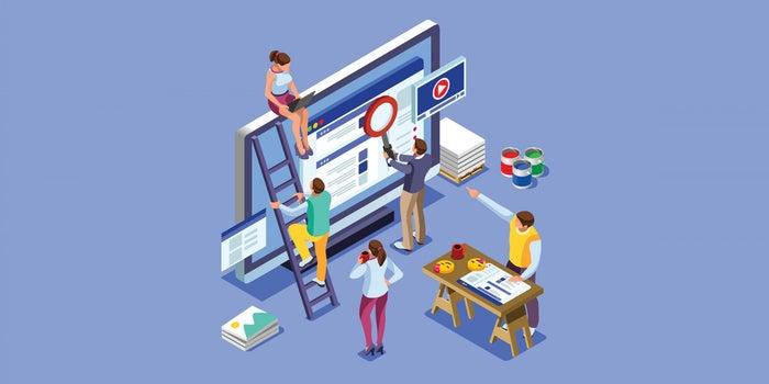 طراحی سایت به همراه سئو